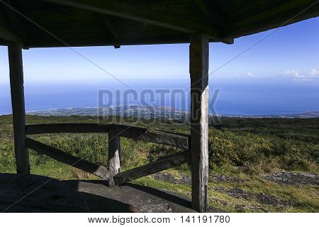 Saint Paul Coastline, From Piton Maido, La Reunion Island