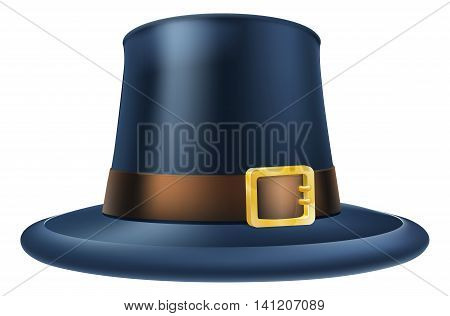 Thanksgiving Pilgrim Hat