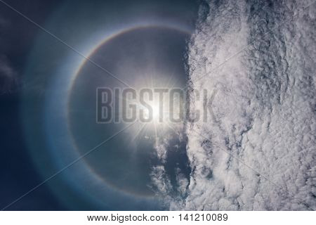 Sun Corona Ring