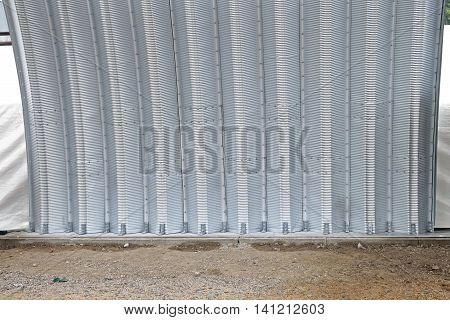 Prefabricated Self Supporting Steel Arch Structure Building