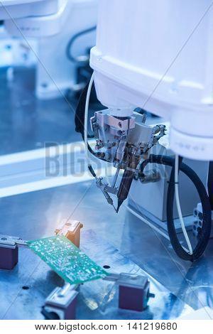 PCB Processing on CNC machine