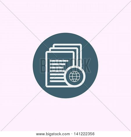 Files Internet Icon In Vector Format. Premium Quality Files Internet Symbol. Web Graphic Files Inter