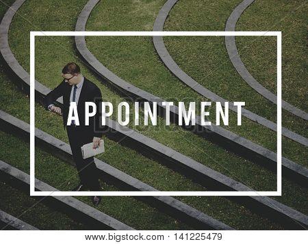 Agenda Appointment Calendar Position Punctual Concept