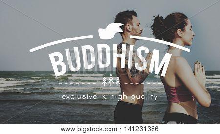 Buddhism Buddhist Culture Meditation Nature Concept