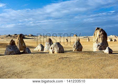 Pinnacles Park Desert View In West Australia