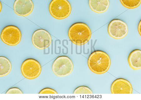 Sour Lemon Orange Vitamin Citron Sour Juice Concept