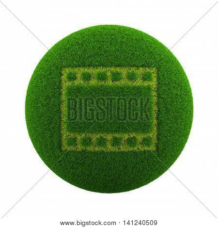 Grass Sphere Movie Icon