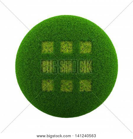 Grass Sphere App Selection Icon