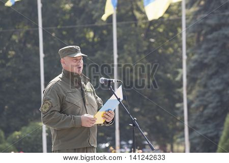 Head Of Sloviansk Police  Department Colonel Sergey Aleshin