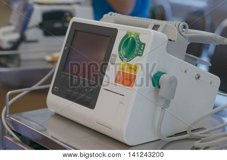 Defibrillator In Emergency Room