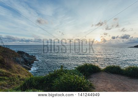 Sunset at Laem Phrom ThepPhromthep Cape south of Phuket