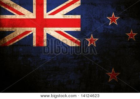 antique flag of new zealand