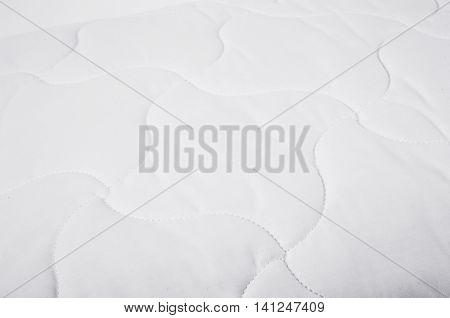 A big and white pillow texture detail