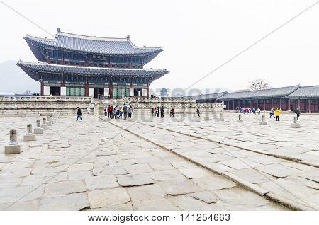 Korea Touring Place