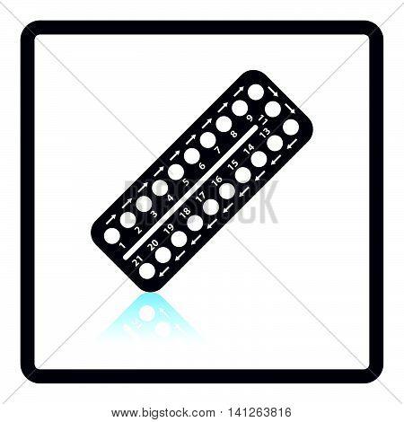 Contraceptive Pil Pack Icon