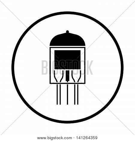 Electronic Vacuum Tube Icon