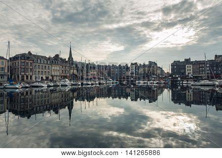 Cozy Touristic French Honfleur Town;