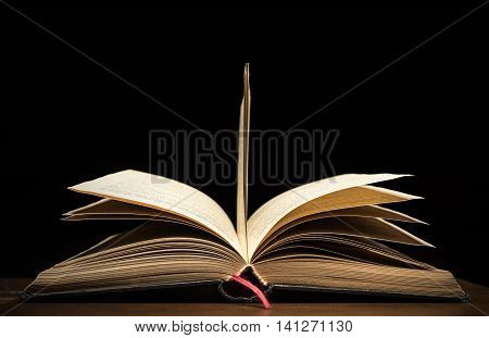 Open Book high quality studio shot phototography