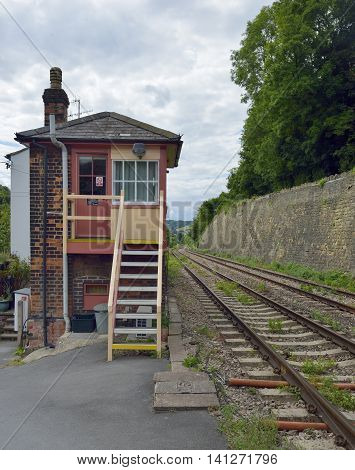St. Mary's Signal Box Brimscombe Stroud Gloucestershire