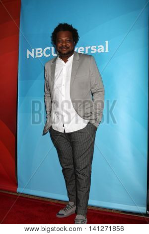 LOS ANGELES - AUG 3:  Bonin Bough at the NBCUniversal Cable TCA Summer 2016 Press Tour at the Beverly Hilton Hotel on August 3, 2016 in Beverly Hills, CA