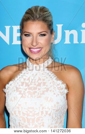 LOS ANGELES - AUG 3:  Melanie Collins at the NBCUniversal Cable TCA Summer 2016 Press Tour at the Beverly Hilton Hotel on August 3, 2016 in Beverly Hills, CA