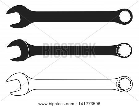 Spanner Icon. Spanner Icon Vector. Spanner Icon Picture. Wrench Icon Image. Wrench Icon Graphic