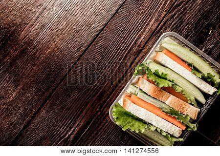 Fresh Vegetable Lunch