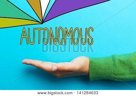Autonomous Concept With Hand