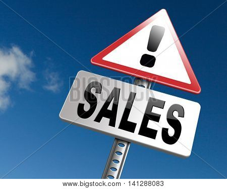 sales online shopping concept with discount web shop bargain cheap order at webshop sale road sign billboard 3D illustration