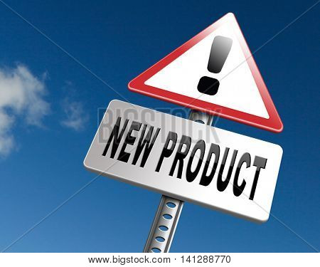 new product coming soon announcement arriving and available soon advertising news, road sign, billboard. 3D illustration