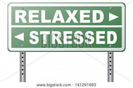 stress therapy and management helps in relaxation reduce tension and relief negativity become relaxed not stressed reduction of negative vibes distressing  3D illustration