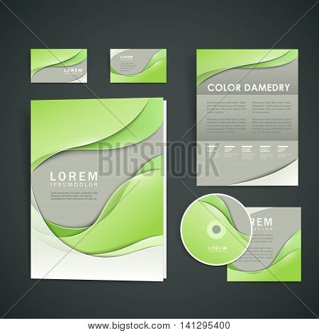 Abstract Corporate Identity Design