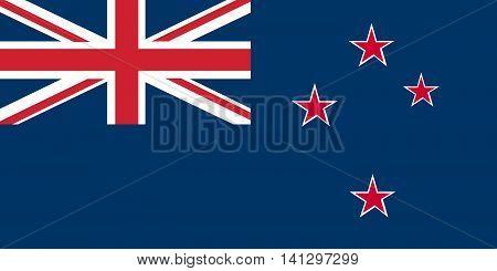 Flag of New Zealand vector flag new zealand national flag