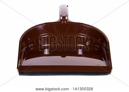 New Dustpan For Cleaning On White Background