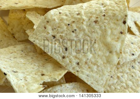 This is a photograph of Tortilla chips