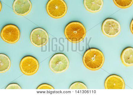 Sour Lemon Orange Vitamin Citron Sour Juice Concept