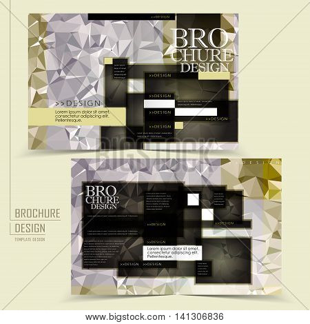 Gorgeous Half-fold Brochure Design