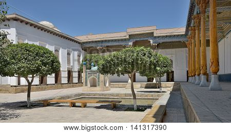 The MEMORIAL COMPLEX of BAHAUDDIN NAQSHBANDI (1318-1389) is a center of pilgrimage as it was worshipped not only in Bukhara but also in the whole Islamic world.