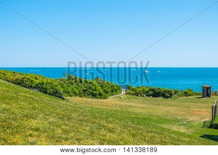 View from the Montauk Point Lighthouse - Long Island, US