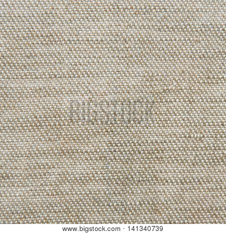 Tweed cloth. Brown textile background.Textile background with copy space.