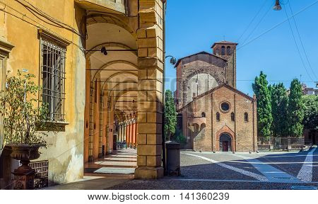 Basilica Of Santo Stefano In Bologna. Emilia-romagna. Italy.
