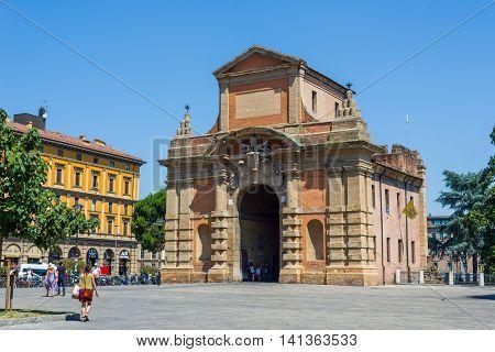 Porta Galliera Of Bologna. Emilia-romagna. Italy.