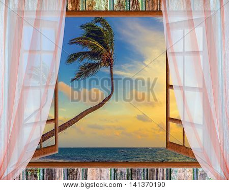 Open Window To The Sea