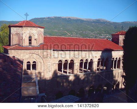 Church of Saint Sophia in Ohrid Macedonia