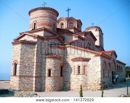 Church of Saint Panteleimon in Ohrid Macedonia