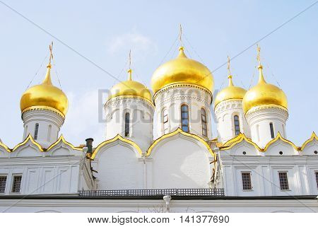 Annunciation church. Moscow Kremlin. UNESCO World Heritage Site.