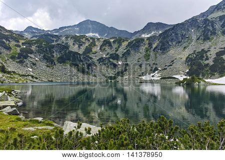 Landscape of Banderishki Chukar Peak and The Fish Lake, Pirin Mountain, Bulgaria