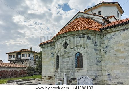 Tower of Angel Voivode and church in Arapovo Monastery of Saint Nedelya, Plovdiv Region,  Bulgaria