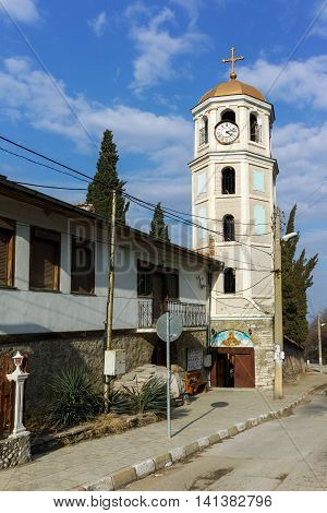 Church of Assumption in Gornovoden, Asenovgrad,  Plovdiv Region, Bulgaria