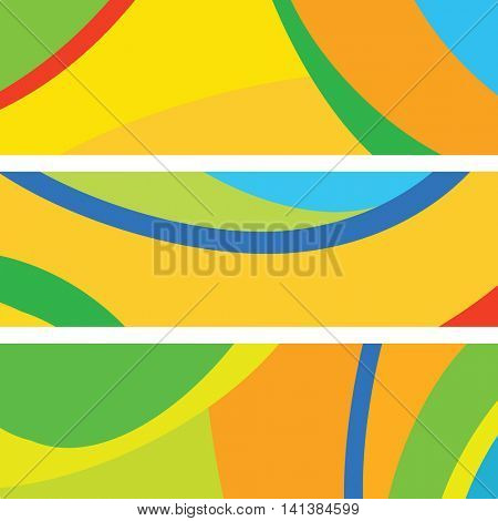 Website banner design - Abstract background with copy space